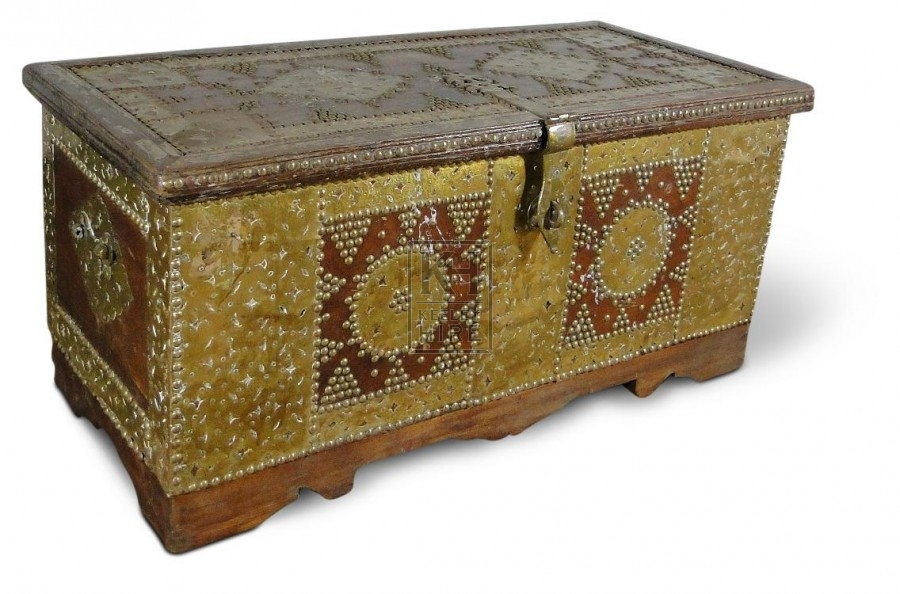 Studded Carved Chest