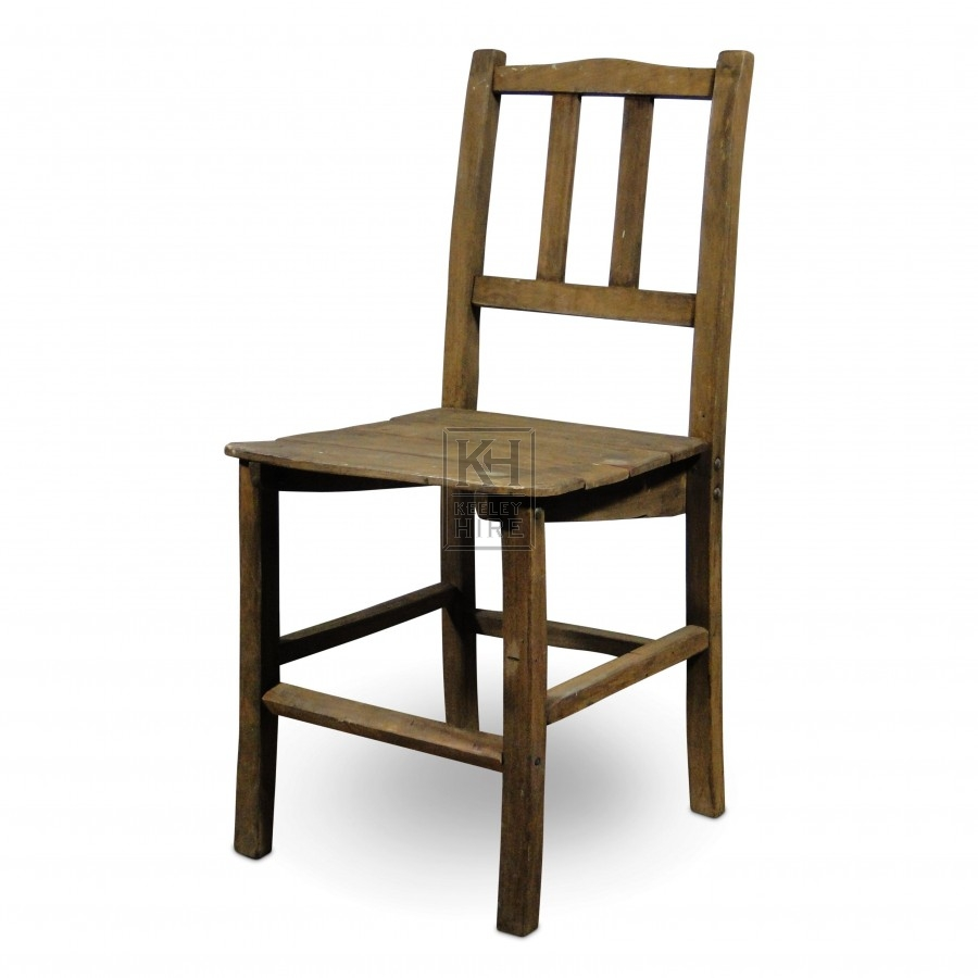 Slatted Back Chairs ~ Chairs prop hire slatted back wood chair keeley
