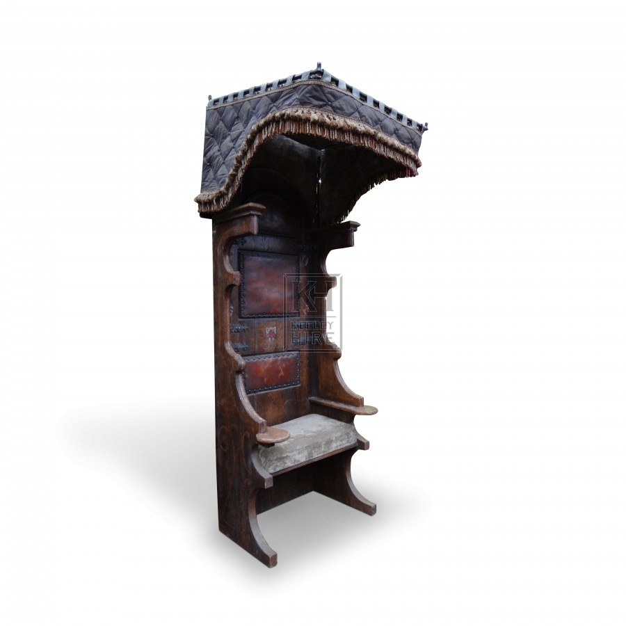 Tall Medieval Throne Chair King