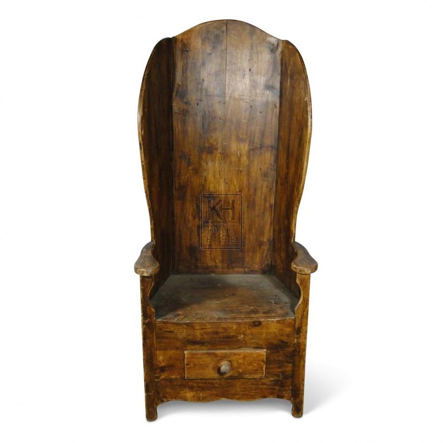 Single Settle Chair