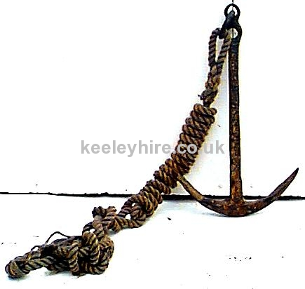 Large Iron Anchor