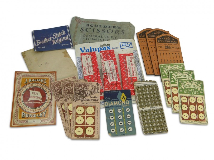 Button Cards and Accessories