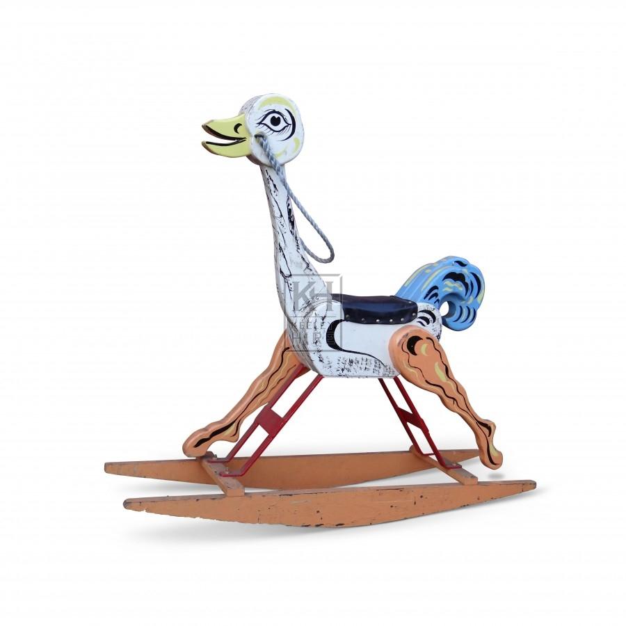 Childs Rocking Horse - Ostrich