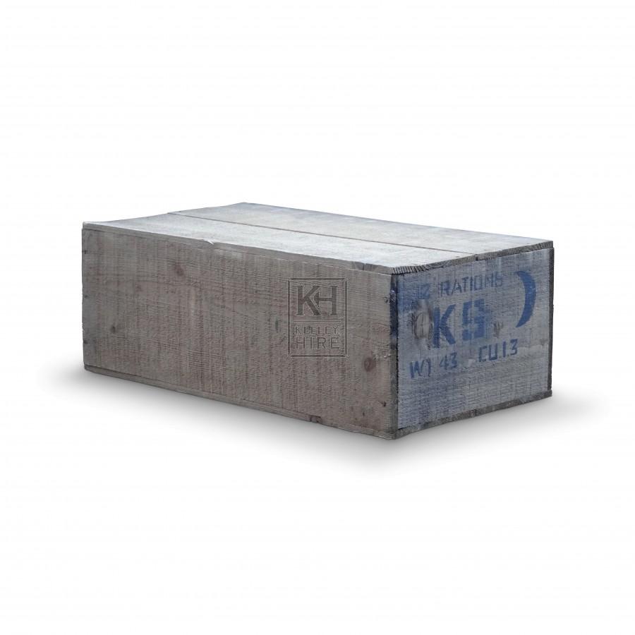 KS Wood Ration Boxes