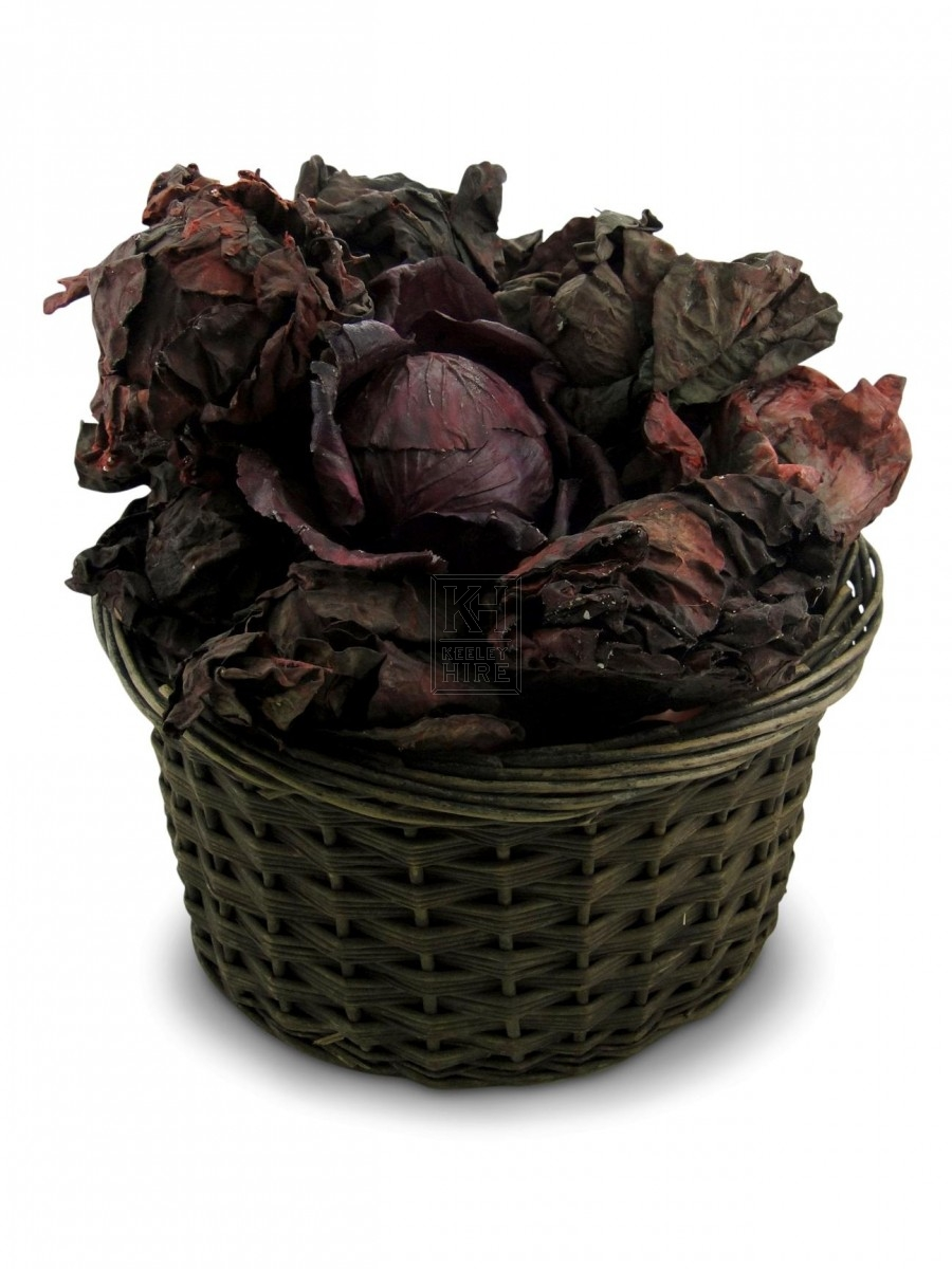 Red Leafy Cabbage