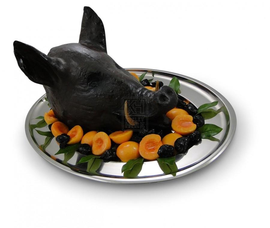 Boars Head on Platter