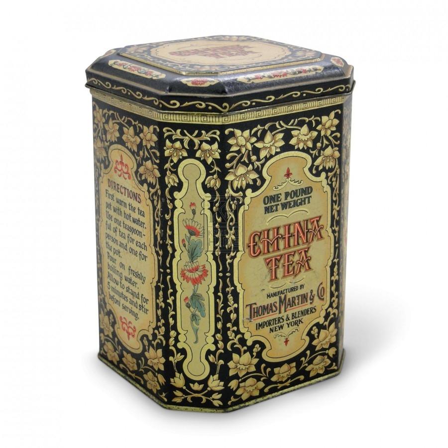 China Tea Tin