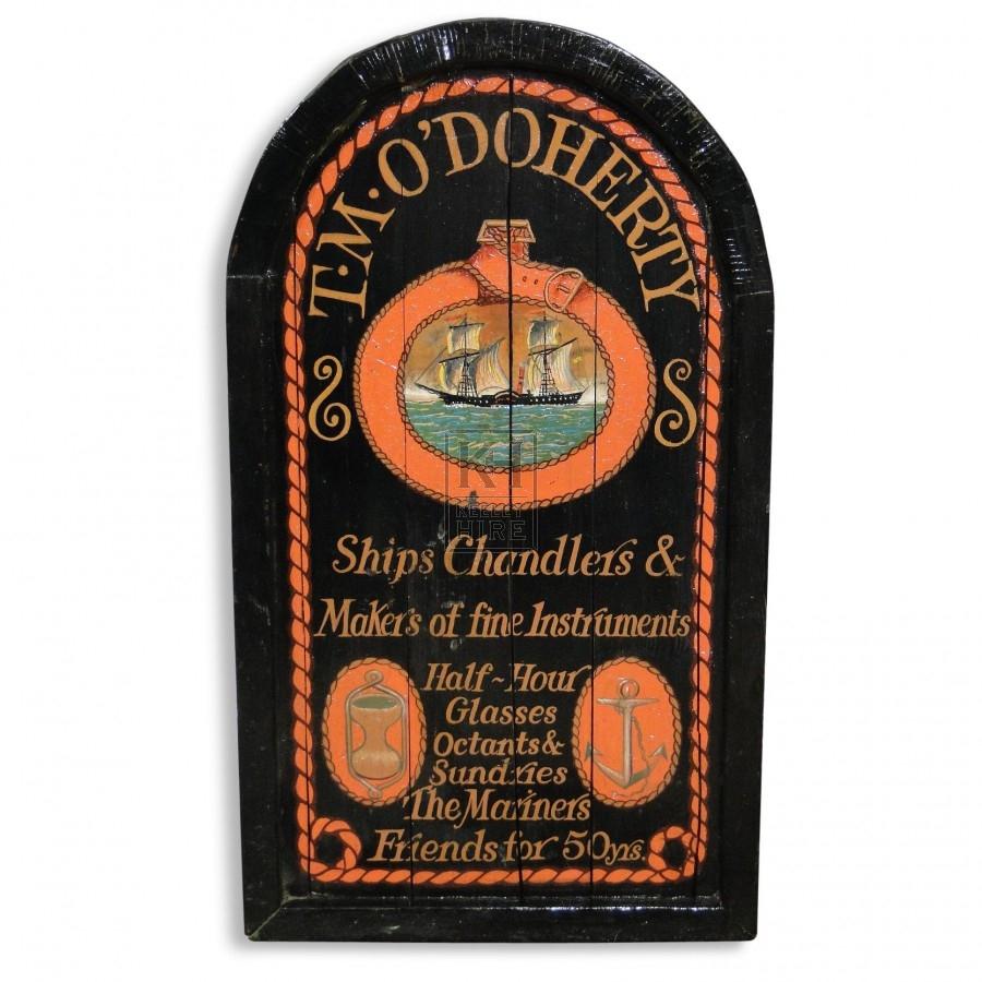 T M O Doherty Tavern Sign