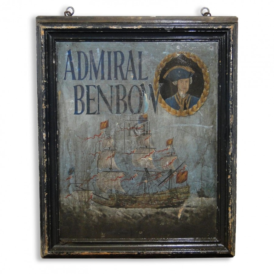 Admiral Benbow Sign