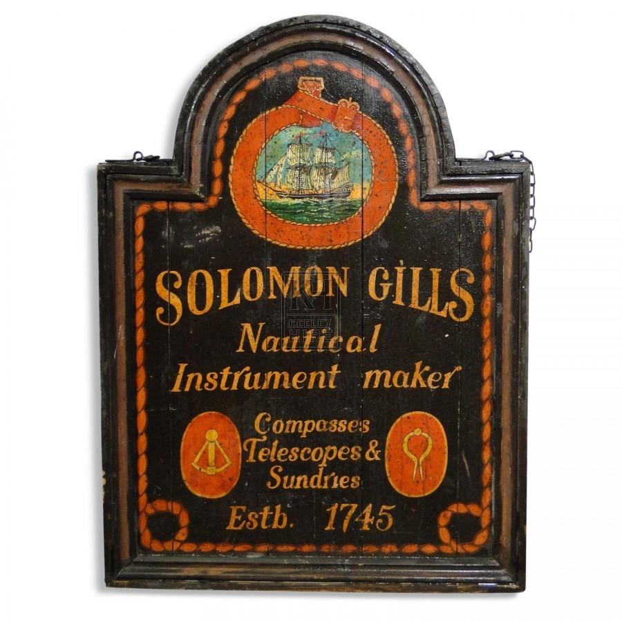 Solomon Gills Sign