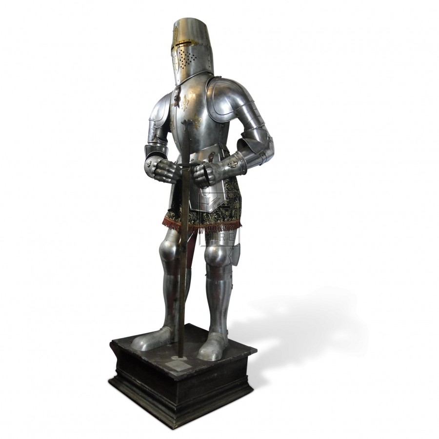 C16th Spanish Jousting Suit Of Armour