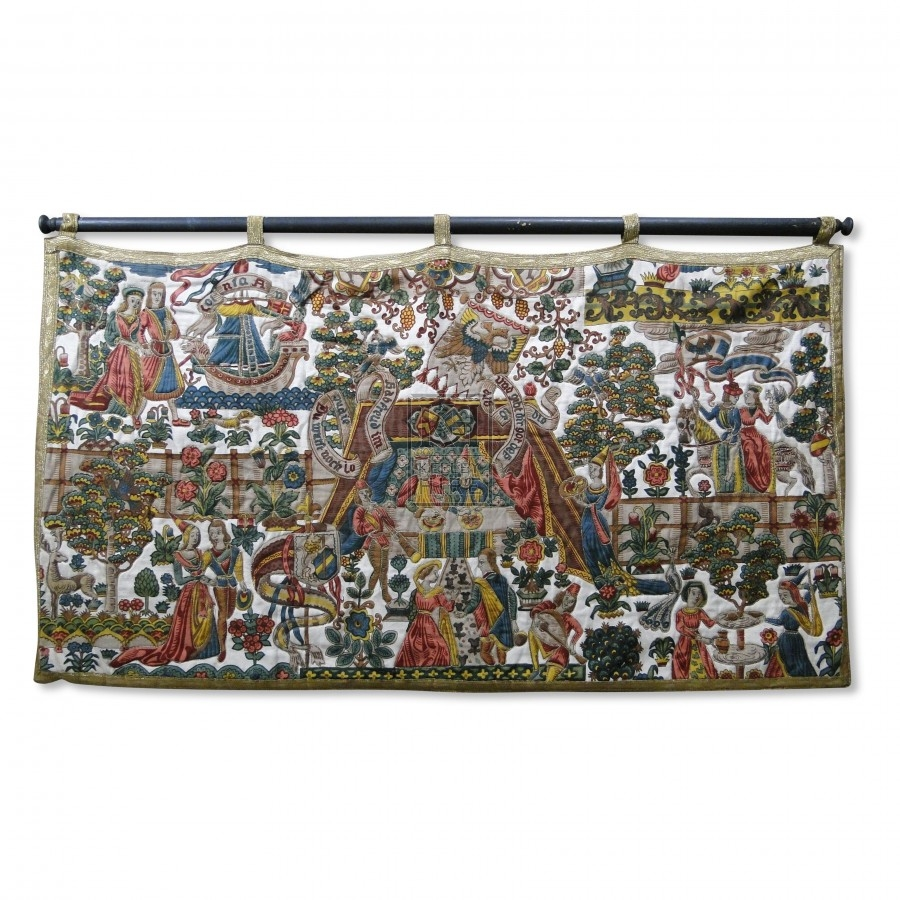 Pale Background Tapestry