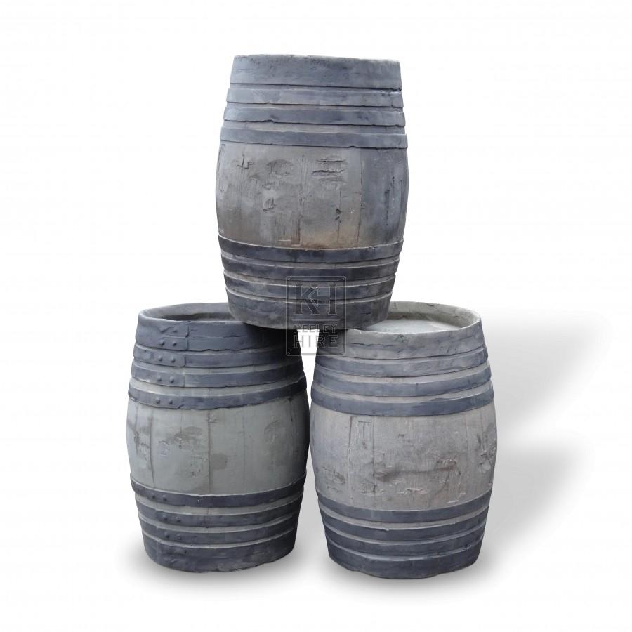 Fibreglass barrels