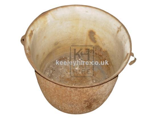 Round Galvanised tub
