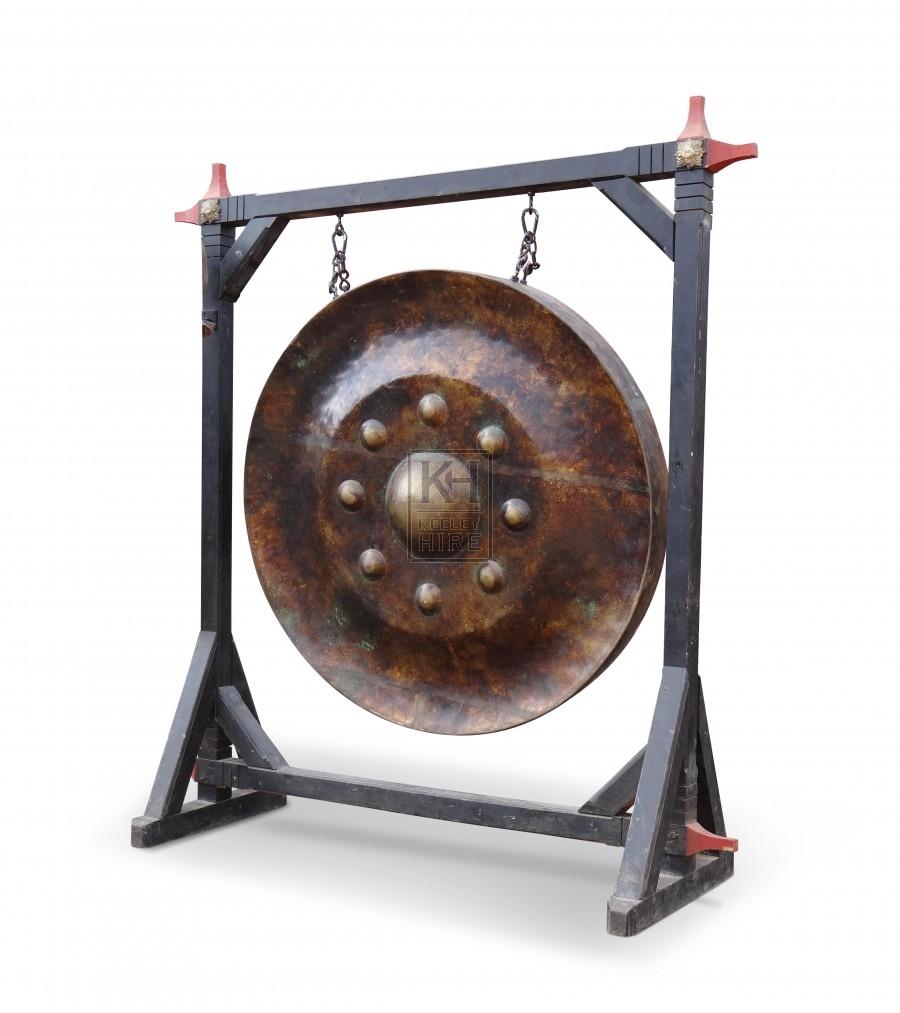 Large Freestanding Gong