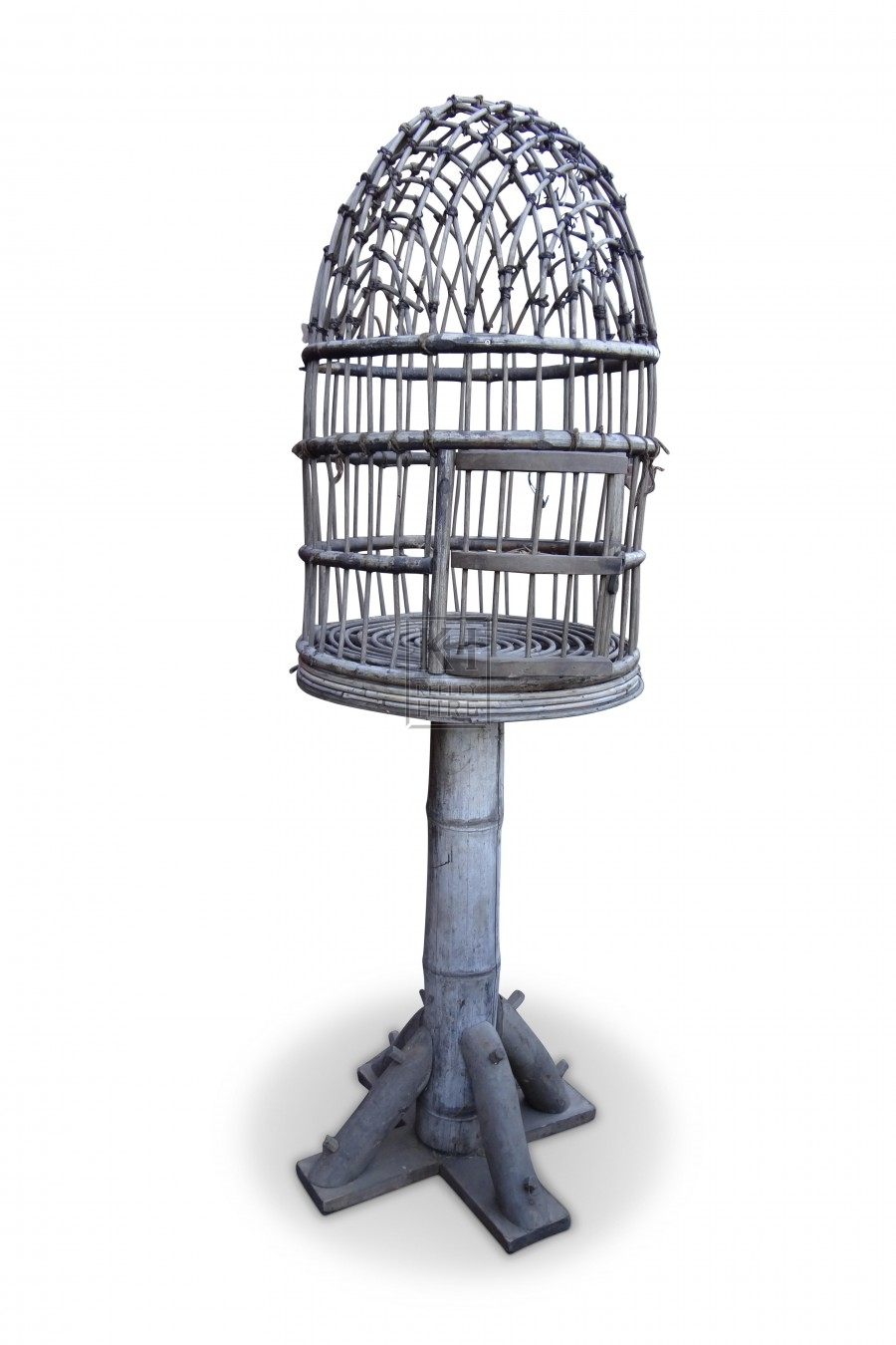 Floorstanding Wooden Bird Cage