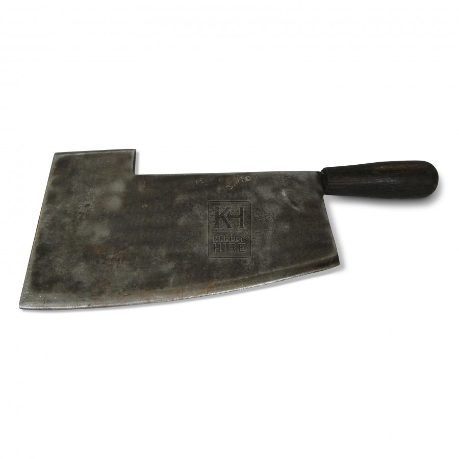 Cleaver with deep blade