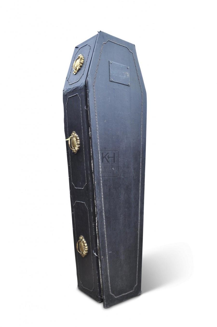 Coffin - Black Leather