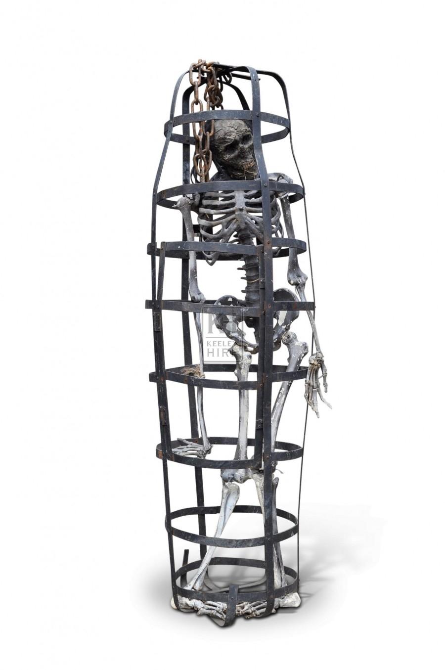 Iron Gibbet cage