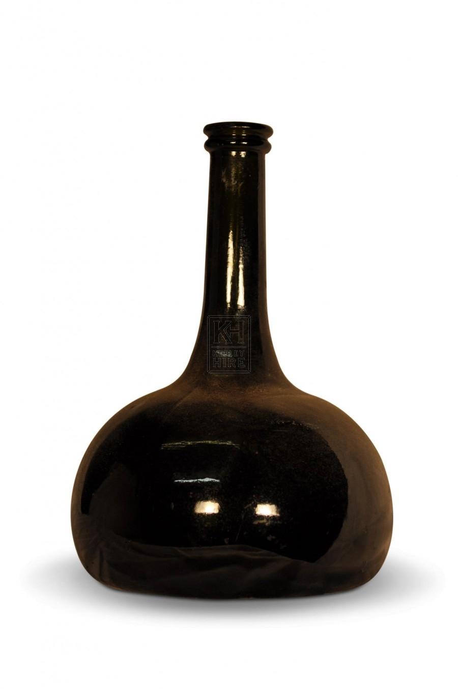 Bulbous Period Glass bottle