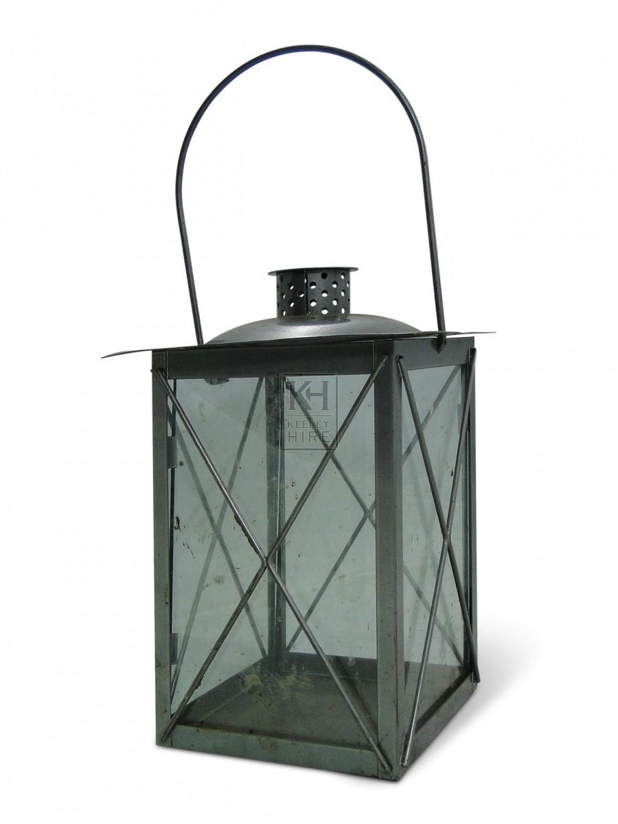 Square Glass Lantern