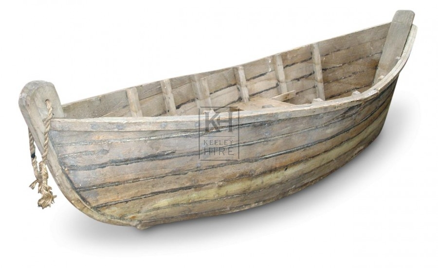 Wood Cladded Boat
