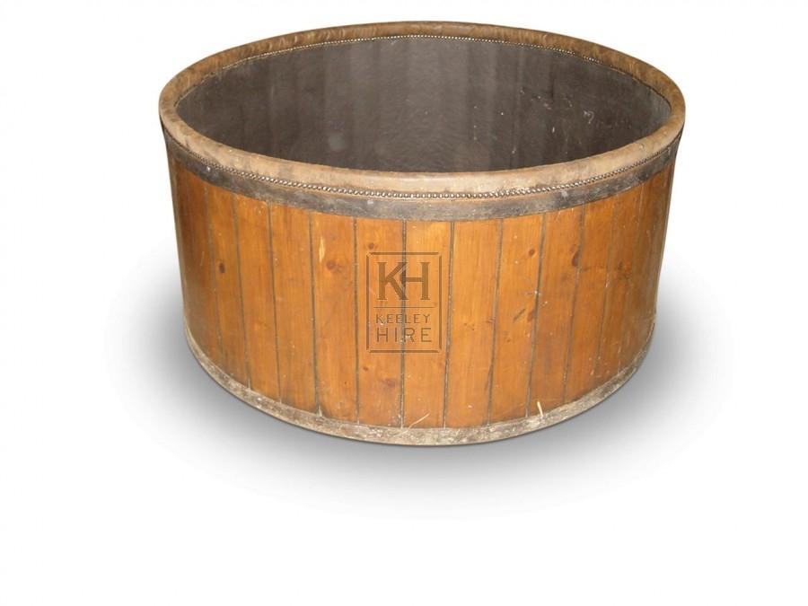 Round Bath Tubs : Prop Hire » Bath Tubs & Large Wooden Tubs » Round Period Bath Tub ...