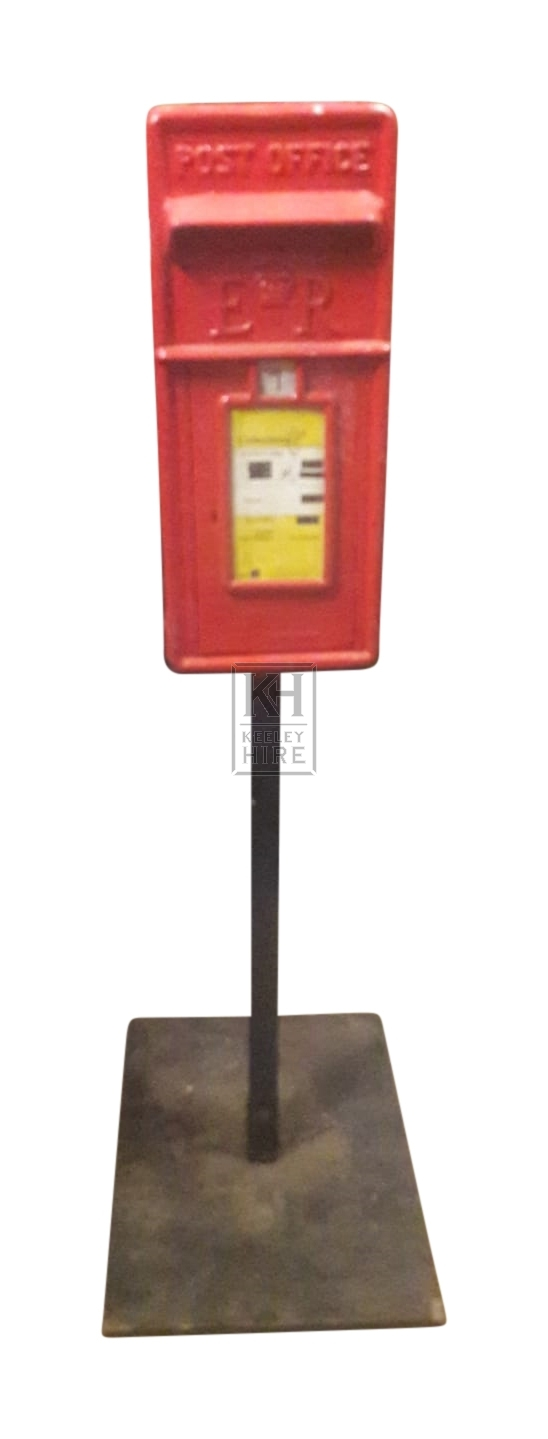 Postboxes Phoneboxes And Parking Meters Prop Hire 187 Red
