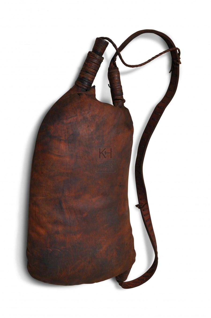 Leather Wine Drinking Pouch