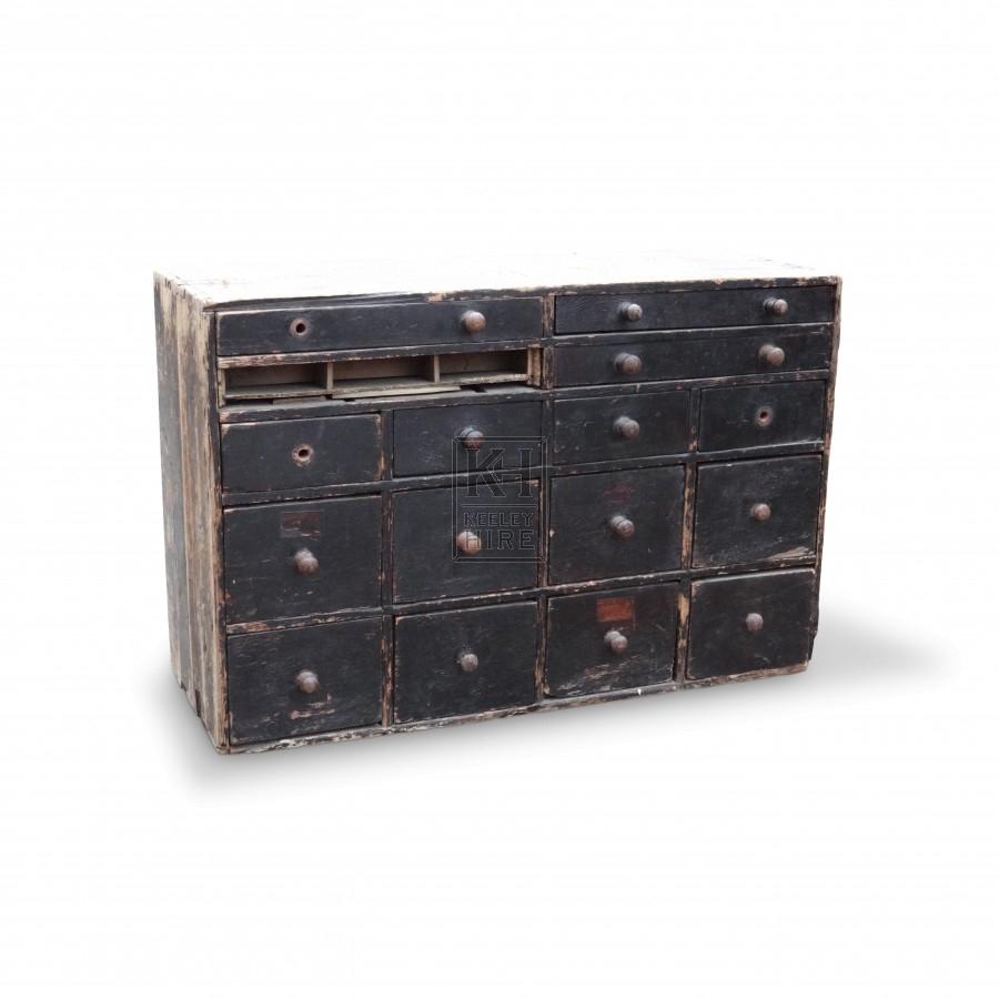 Shop 16 drawer base unit