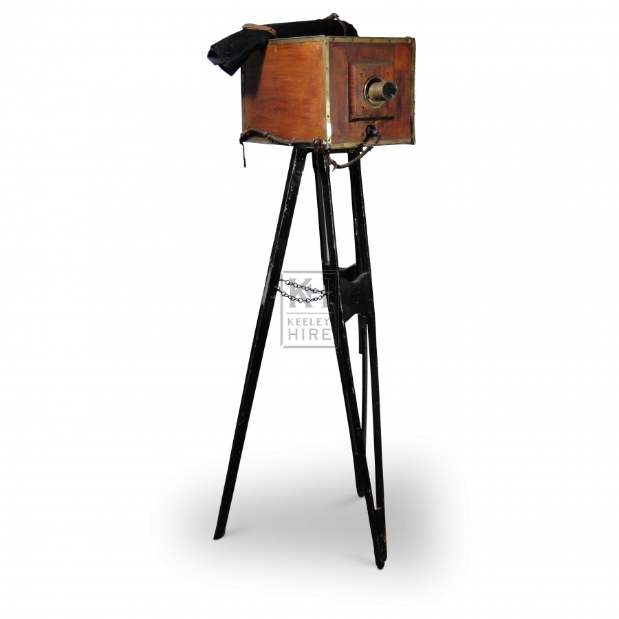 Prop Tripod Box Camera