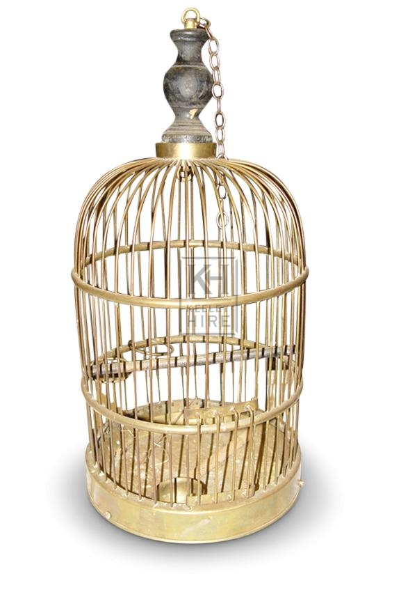 Dome Brass Bird Cage