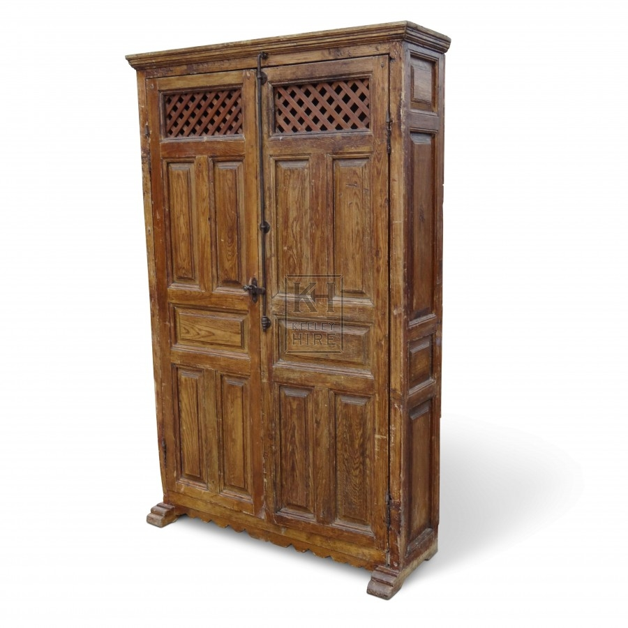 Large Freestanding Wooden Cupboard