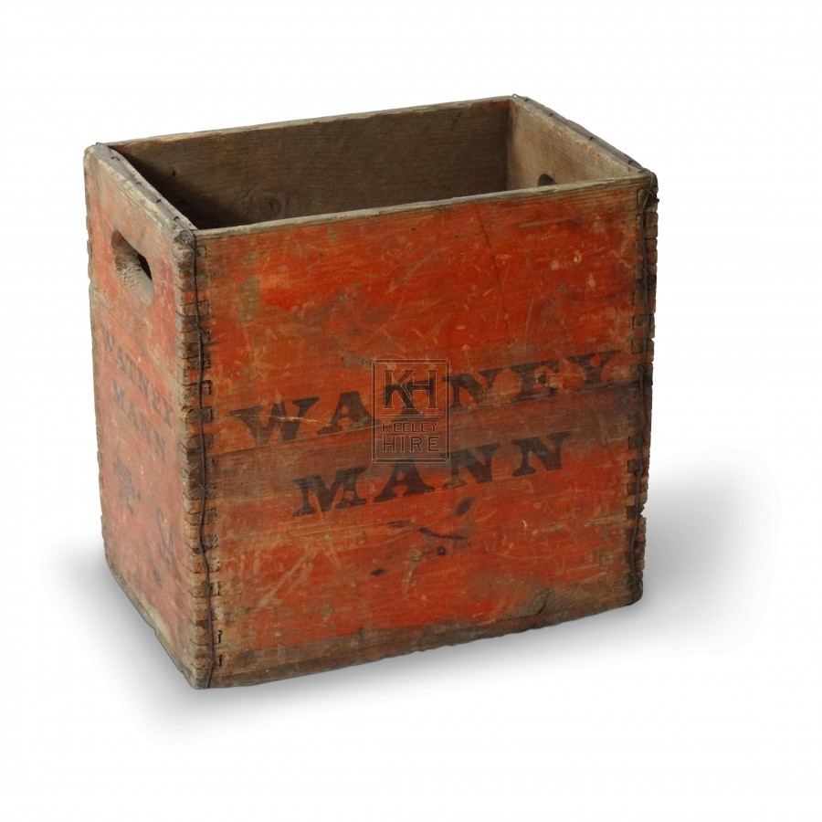 Crates prop hire wooden beer crate keeley hire for Timber crates