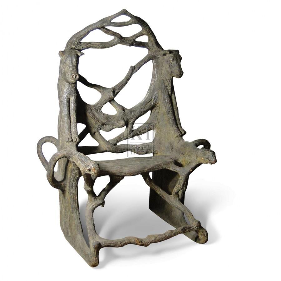 Animal Head Chair