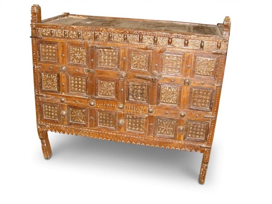 Carved Wood Cupboard
