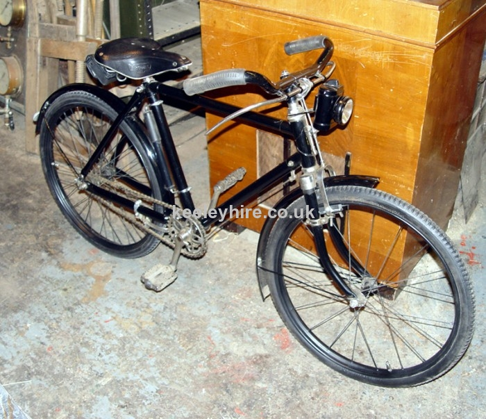 1950s childs bicycle black/chrome