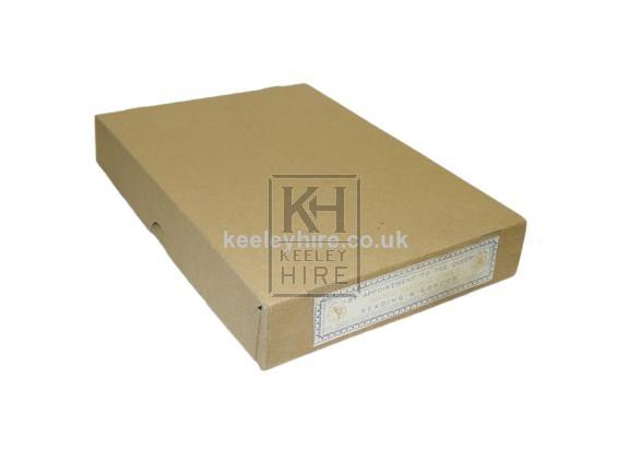 Drapers card box