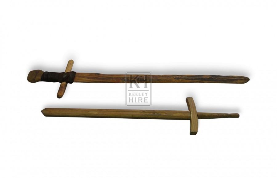 Toy Wooden Swords