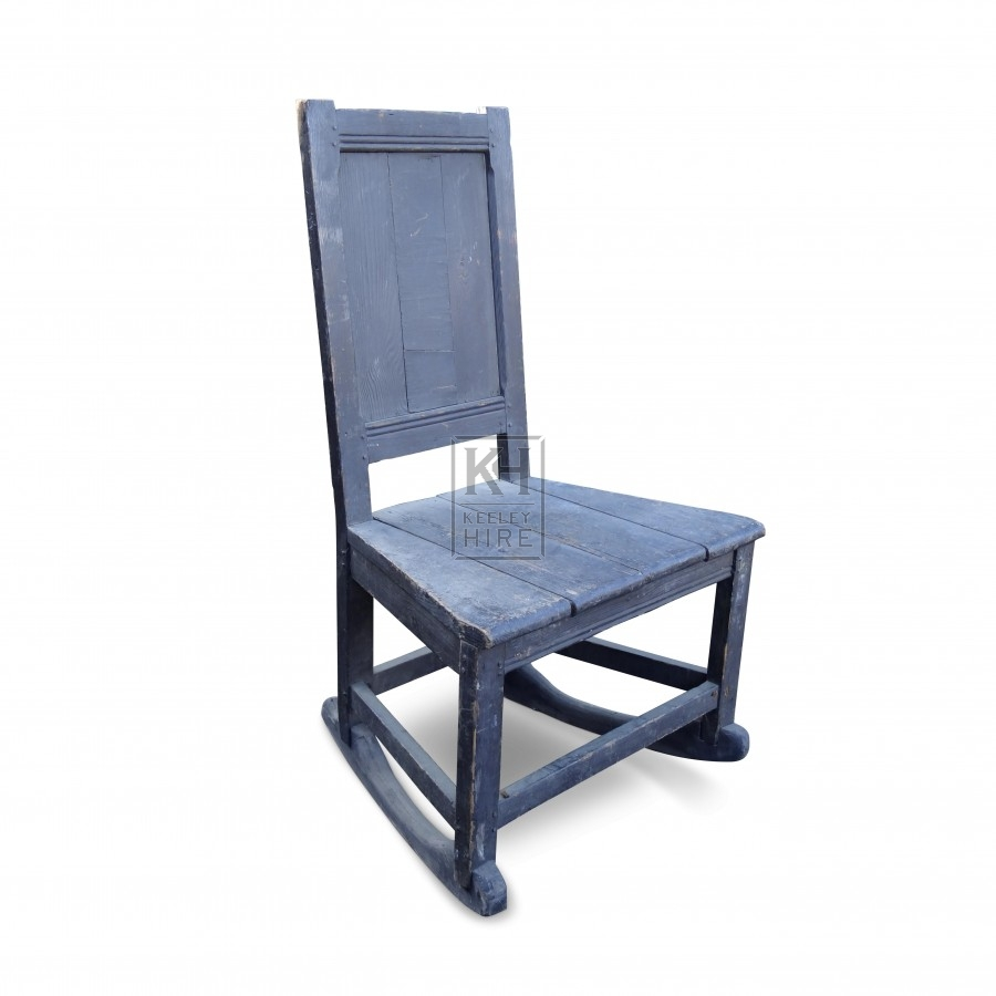 Large wood chair