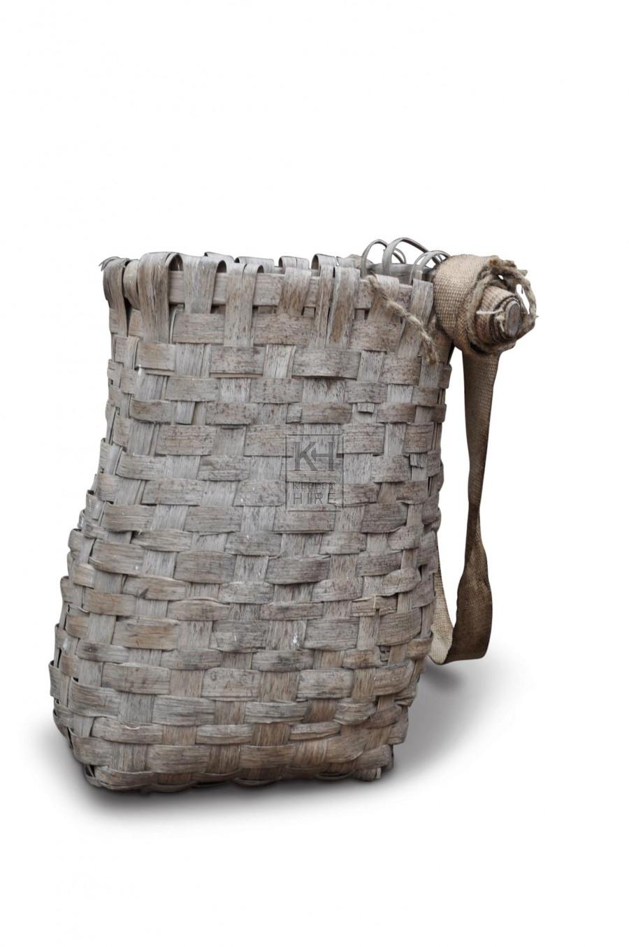 Back Basket - Woven