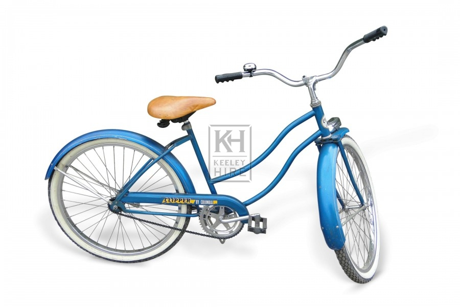 Blue American Ladies Bicycle