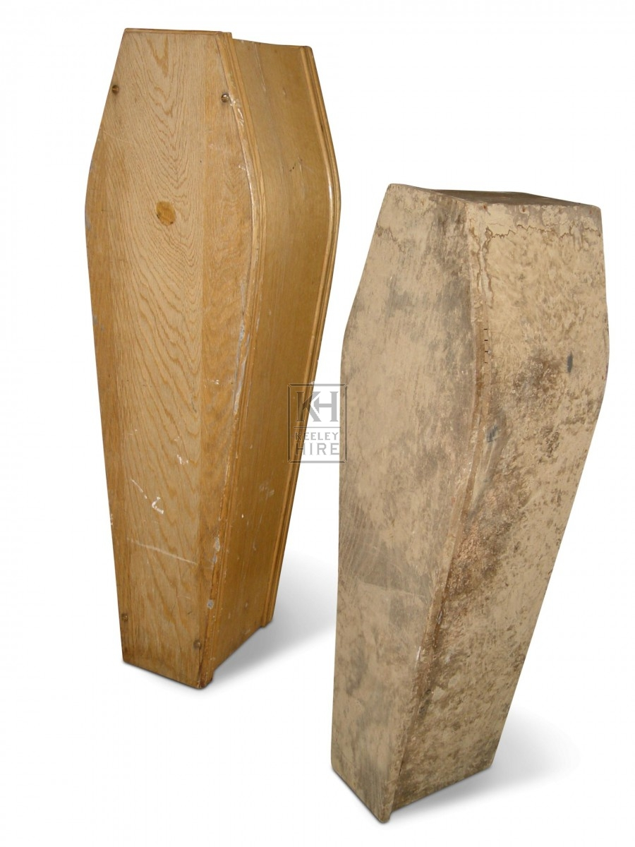 Small wood coffin