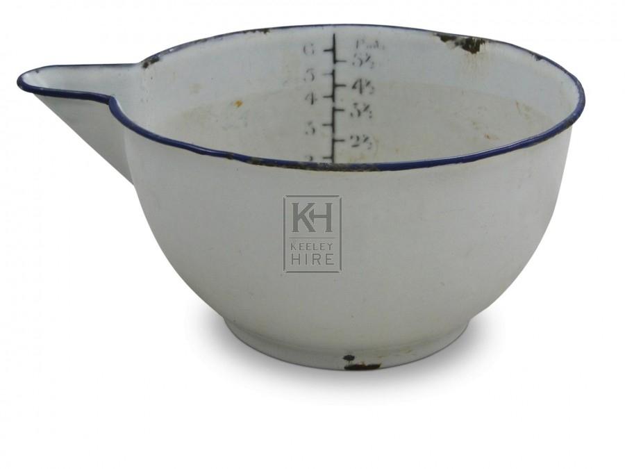 Enamel Scoop Measure
