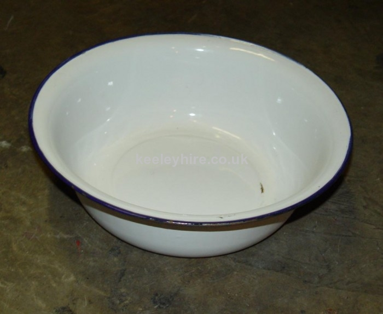 Enamel Bowl White
