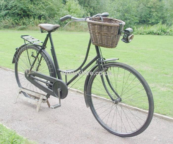 Vintage ladies bicycle