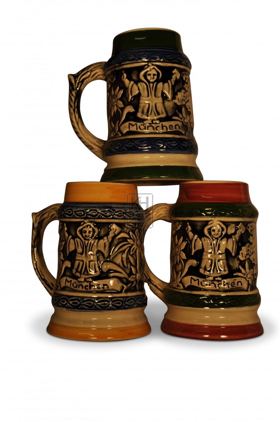 Ceramic Beer Steins