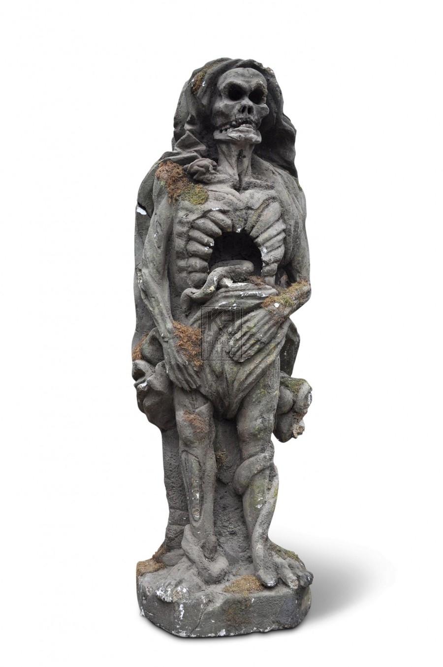 Snake Monster Statue