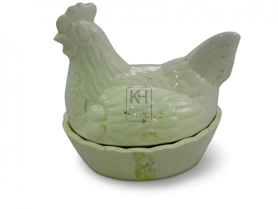 China Hen Egg Basket
