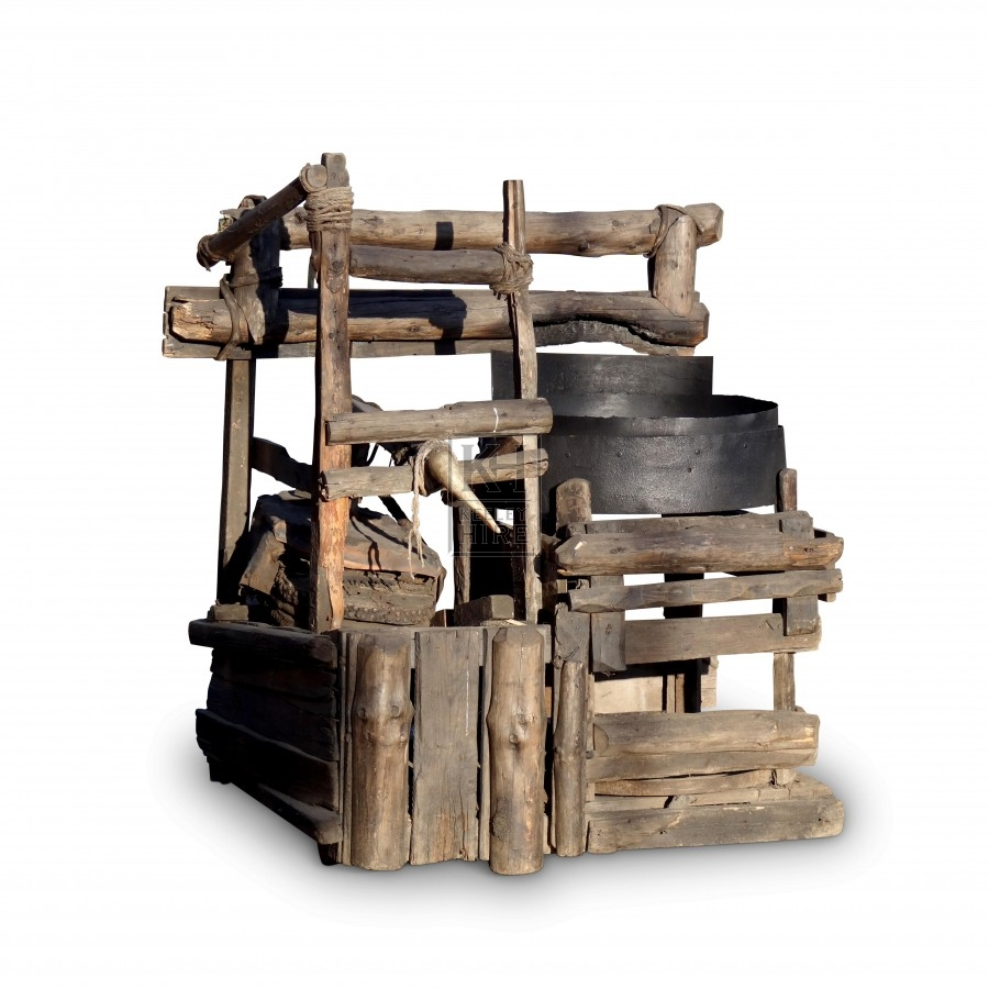 Rustic Blacksmiths Forge